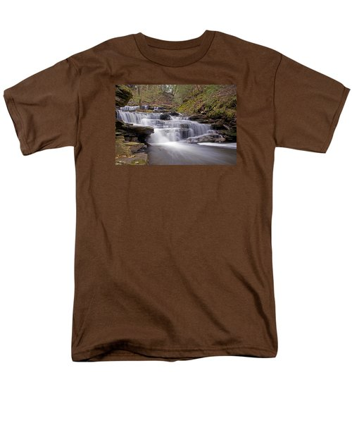 Seneca Falls In Spring Men's T-Shirt  (Regular Fit) by Shelly Gunderson
