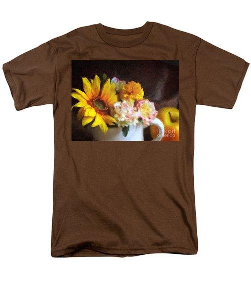 Men's T-Shirt  (Regular Fit) featuring the digital art September Still Life by Lianne Schneider