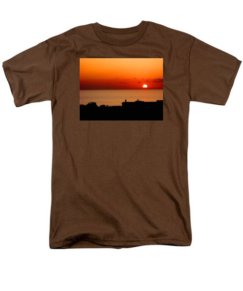 Set Into The Sea Men's T-Shirt  (Regular Fit) by Scott Carruthers