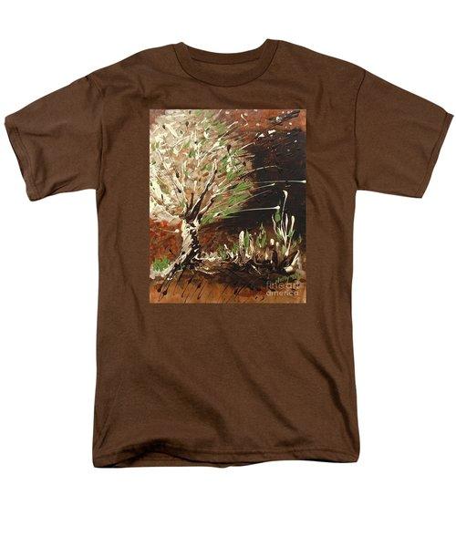 Shadows Men's T-Shirt  (Regular Fit)