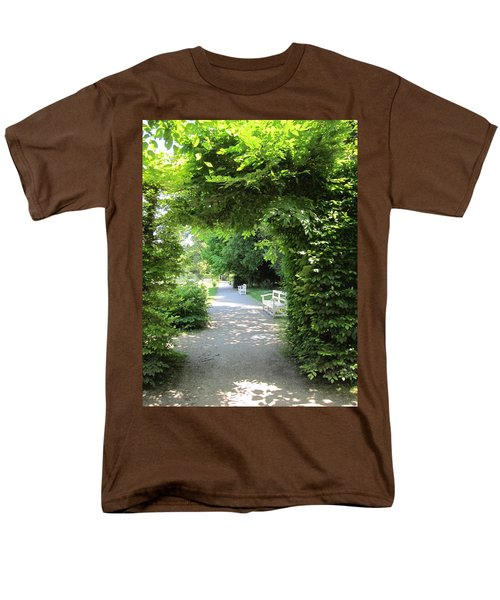 Men's T-Shirt  (Regular Fit) featuring the photograph Shady Retreat by Pema Hou
