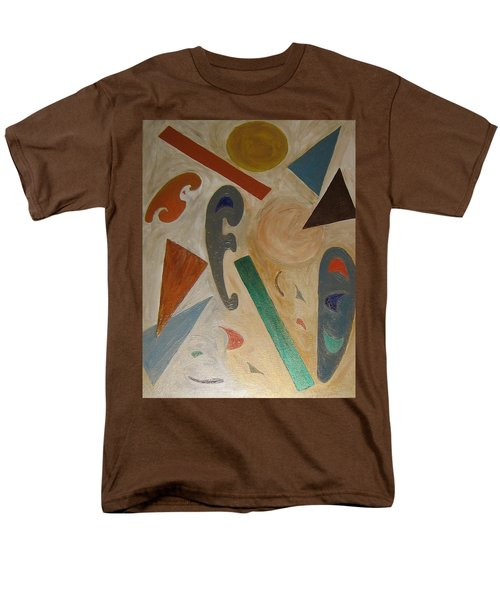Shapes Men's T-Shirt  (Regular Fit) by Barbara Yearty