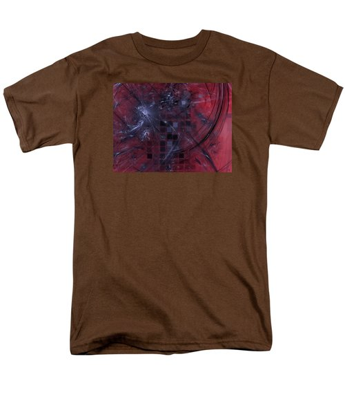 Men's T-Shirt  (Regular Fit) featuring the digital art She Wants To Be Alone by Jeff Iverson