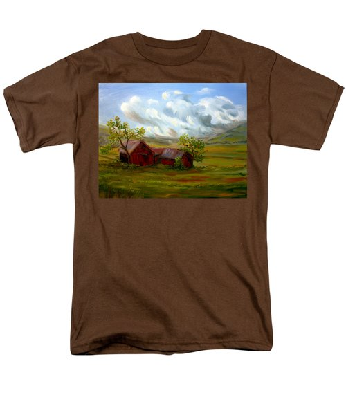Men's T-Shirt  (Regular Fit) featuring the painting Shelter From The Storm by Meaghan Troup