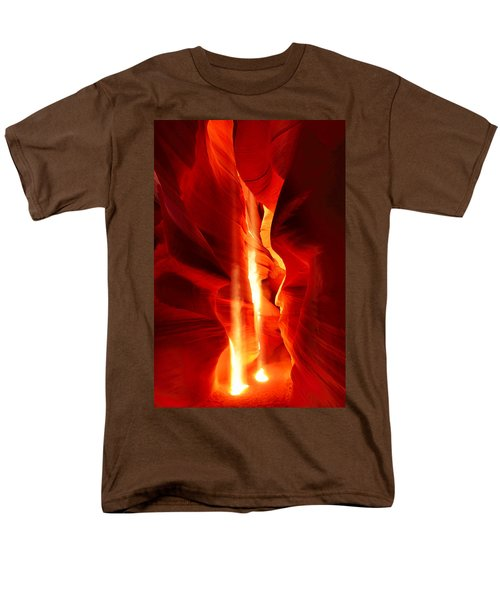 Shining Light Men's T-Shirt  (Regular Fit) by Midori Chan