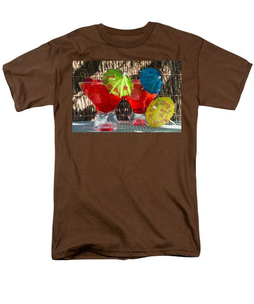 Shirley Temple Cocktail Men's T-Shirt  (Regular Fit) by Iris Richardson