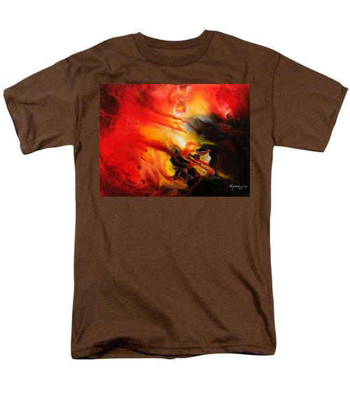 Men's T-Shirt  (Regular Fit) featuring the painting Shooting Star by Kume Bryant