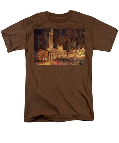 Siena Sunset Men's T-Shirt  (Regular Fit)