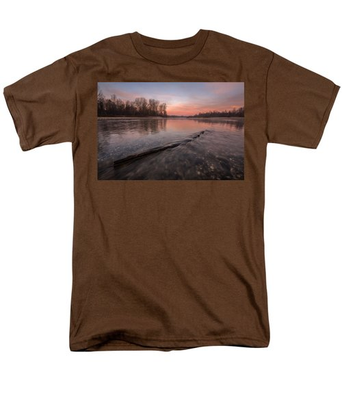 Men's T-Shirt  (Regular Fit) featuring the photograph Silent River by Davorin Mance
