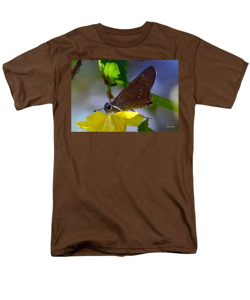 Men's T-Shirt  (Regular Fit) featuring the photograph Skipper Butterfly by Debra Martz