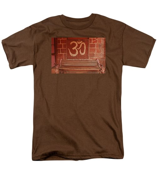 Men's T-Shirt  (Regular Fit) featuring the photograph Skc 0316 Welcome The Gods by Sunil Kapadia