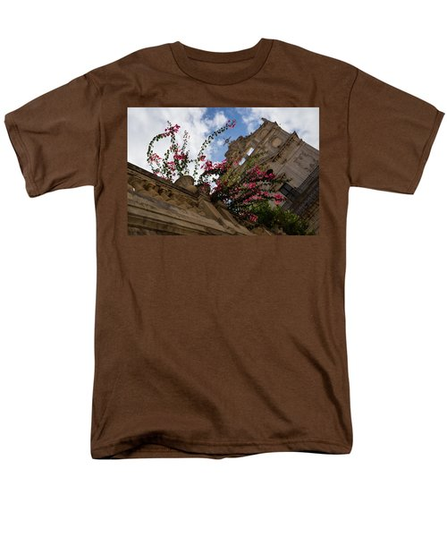 Men's T-Shirt  (Regular Fit) featuring the photograph Sky Blossoms by Georgia Mizuleva