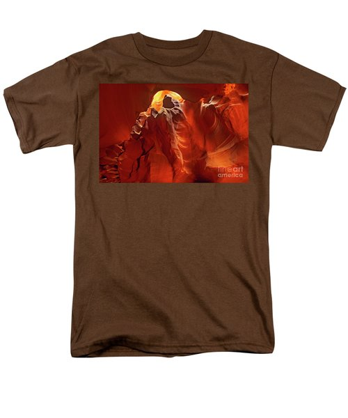 Slot Canyon Formations In Upper Antelope Canyon Arizona Men's T-Shirt  (Regular Fit)
