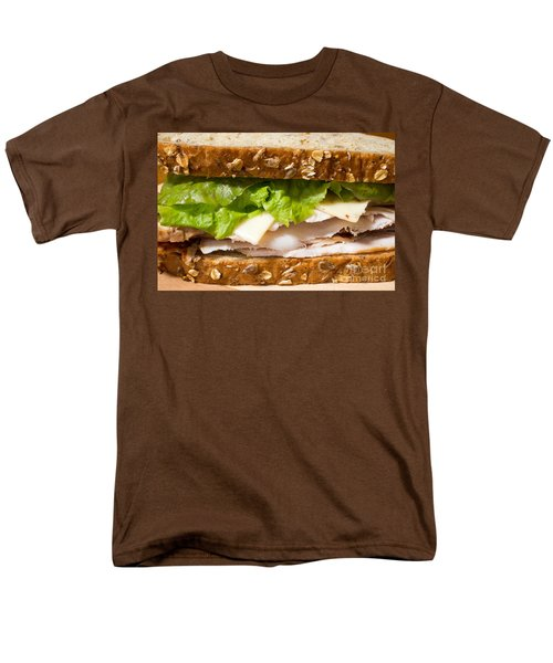 Smoked Turkey Sandwich Men's T-Shirt  (Regular Fit) by Edward Fielding