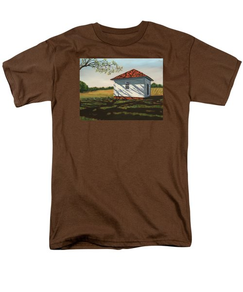 Smokehouse Men's T-Shirt  (Regular Fit) by Alan Mager