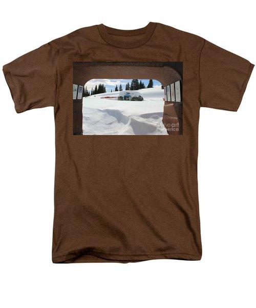 Men's T-Shirt  (Regular Fit) featuring the photograph Snow Daze by Fiona Kennard