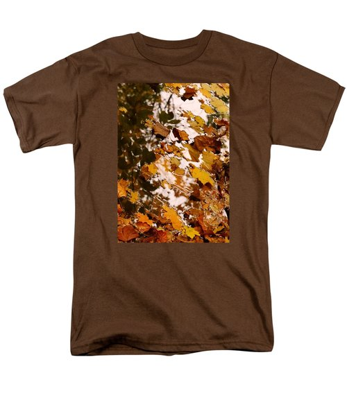 Men's T-Shirt  (Regular Fit) featuring the photograph Soft Landing by Photographic Arts And Design Studio