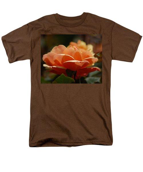 Soft Orange Flower Men's T-Shirt  (Regular Fit) by Matt Harang