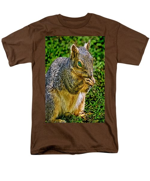Some Squirrels Are Big Men's T-Shirt  (Regular Fit) by Bob and Nadine Johnston