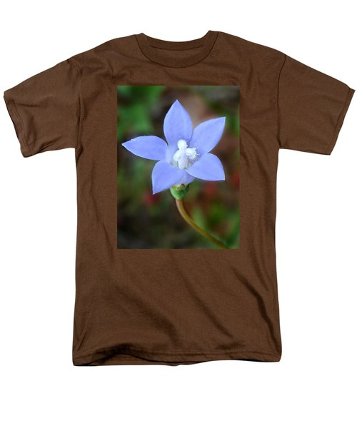 Men's T-Shirt  (Regular Fit) featuring the photograph Wild Southern Rockbell  by William Tanneberger
