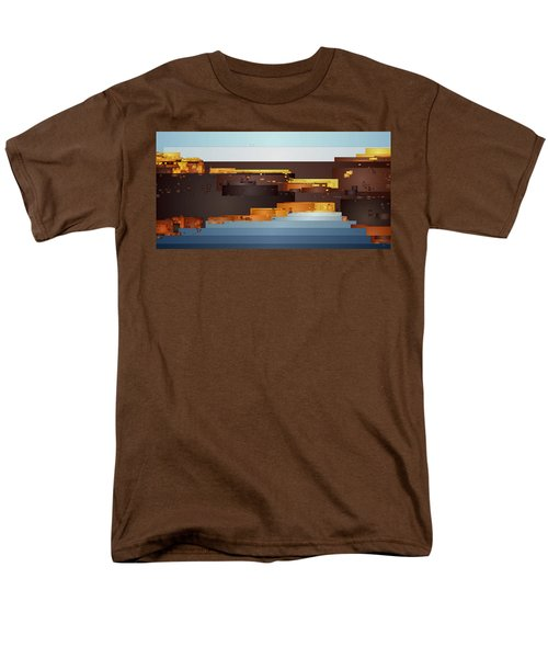 Southwest Sunrise 1 Men's T-Shirt  (Regular Fit) by David Hansen