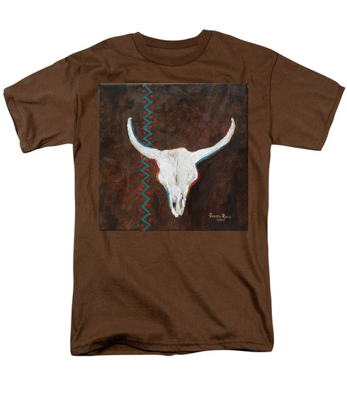 Men's T-Shirt  (Regular Fit) featuring the painting Southwestern Influence by Judith Rhue