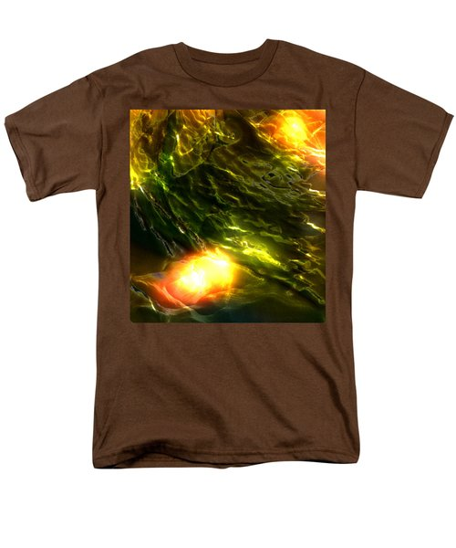 Men's T-Shirt  (Regular Fit) featuring the photograph Space Fall by Richard Thomas