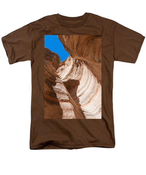 Men's T-Shirt  (Regular Fit) featuring the photograph Spiral At Tent Rocks by Roselynne Broussard