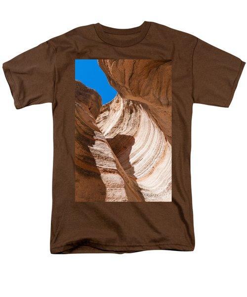 Spiral At Tent Rocks Men's T-Shirt  (Regular Fit) by Roselynne Broussard
