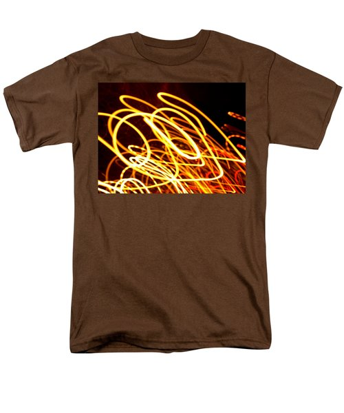 Spiral Light Among Dwellers About The City 2 Men's T-Shirt  (Regular Fit)