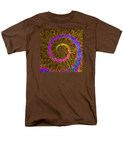 Spiral Rainbow IIi C2014 Men's T-Shirt  (Regular Fit) by Paul Ashby