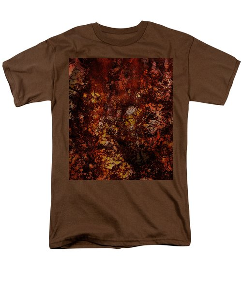 Splattered  Men's T-Shirt  (Regular Fit) by James Barnes