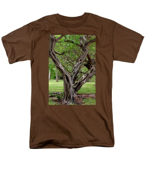 Spooky Tree Men's T-Shirt  (Regular Fit) by Rosalie Scanlon