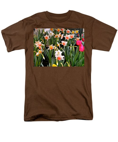 Men's T-Shirt  (Regular Fit) featuring the photograph Spring Daffodils by Ira Shander