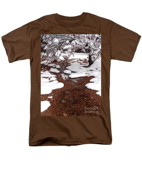 Men's T-Shirt  (Regular Fit) featuring the photograph Spring Into Winter by Kerri Mortenson