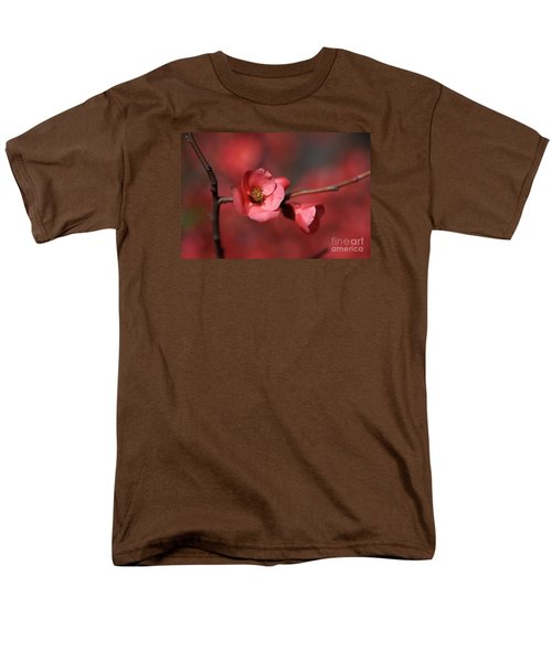 Spring Richness - Flowering Quince Men's T-Shirt  (Regular Fit) by Joy Watson