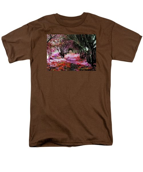 Spring Walk In The Park Men's T-Shirt  (Regular Fit) by Bruce Nutting