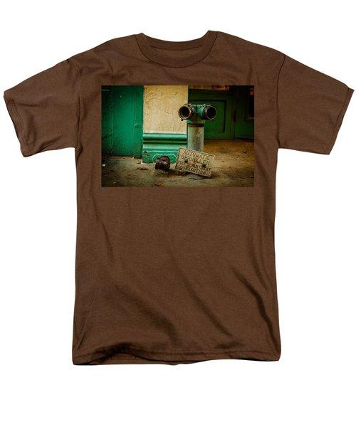 Sprinkler Green Men's T-Shirt  (Regular Fit) by Melinda Ledsome