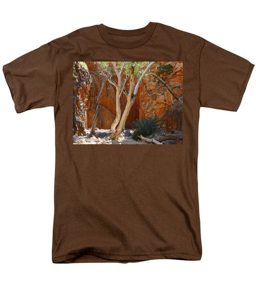 Standley Chasm Men's T-Shirt  (Regular Fit) by Evelyn Tambour