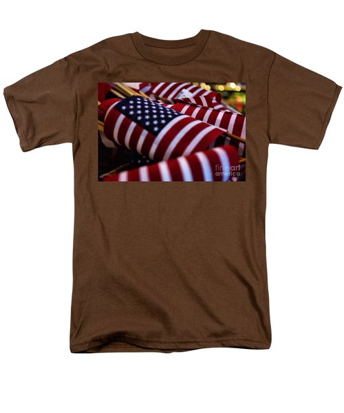 Men's T-Shirt  (Regular Fit) featuring the photograph Stars And Stripes by John S