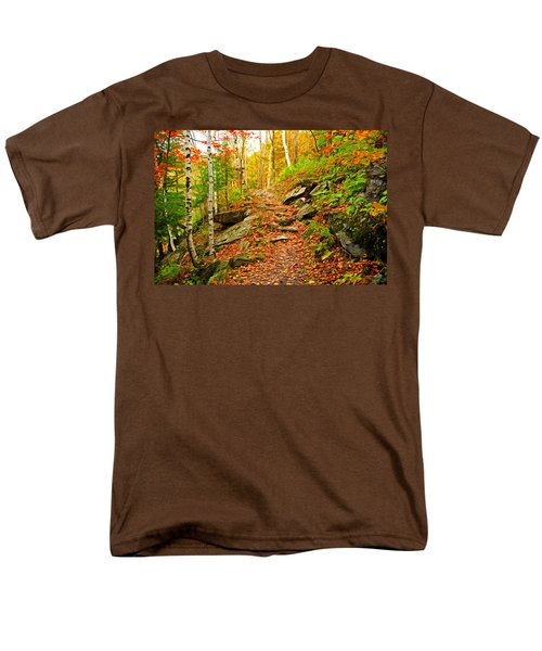 Men's T-Shirt  (Regular Fit) featuring the photograph Stepping Stones by Bill Howard