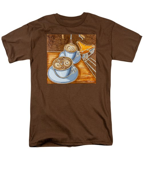 Still Life With Bicycle Men's T-Shirt  (Regular Fit) by Mark Jones