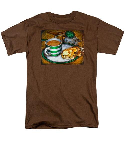 Still Life With Green Touring Bike Men's T-Shirt  (Regular Fit) by Mark Jones
