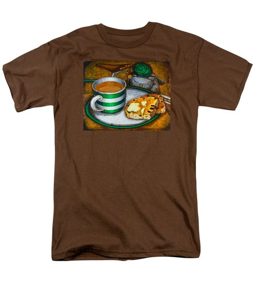 Still Life With Green Touring Bike Men's T-Shirt  (Regular Fit)
