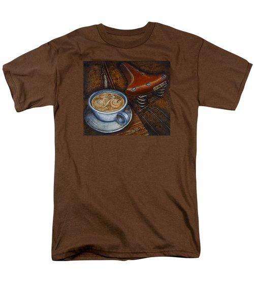 Still Life With Ladies Bike Men's T-Shirt  (Regular Fit) by Mark Jones