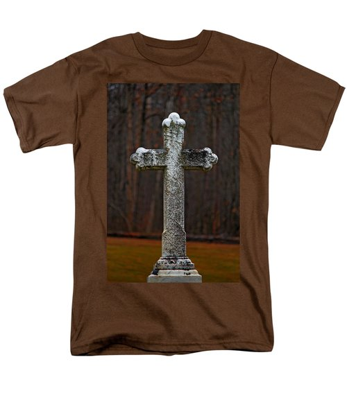 Stone Cross Men's T-Shirt  (Regular Fit) by Rowana Ray