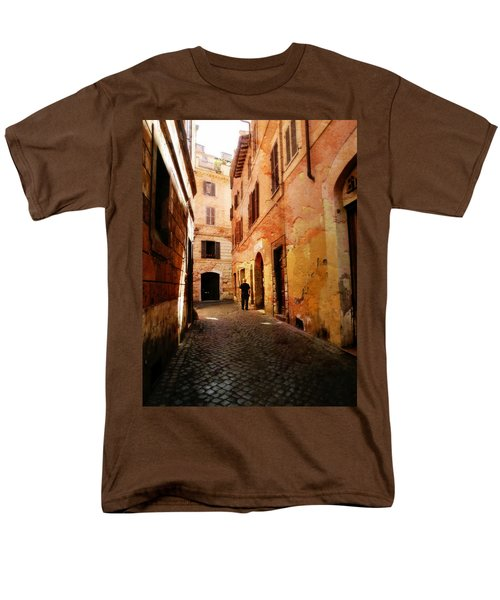 Strade Di Ciottoli Men's T-Shirt  (Regular Fit) by Micki Findlay