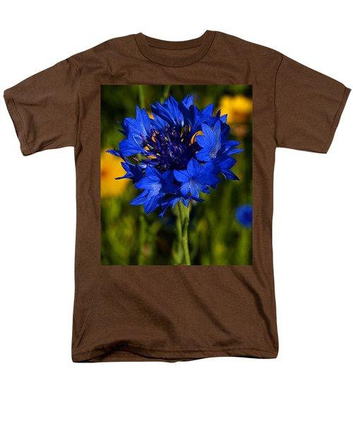 Straw Flower Men's T-Shirt  (Regular Fit) by Roger Becker