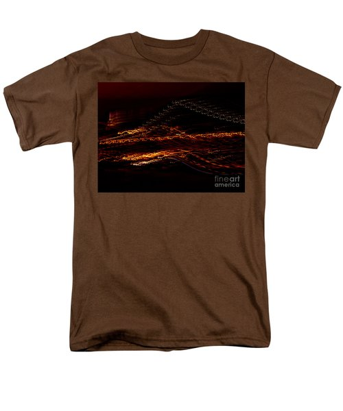 Streaks Across The Bridge Men's T-Shirt  (Regular Fit)