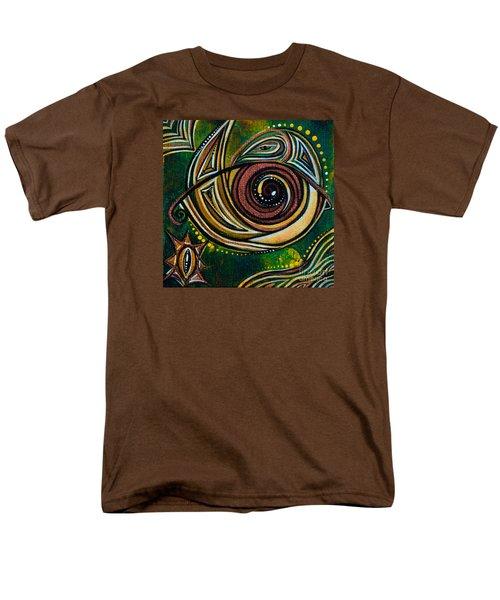 Men's T-Shirt  (Regular Fit) featuring the painting Strength Spirit Eye by Deborha Kerr